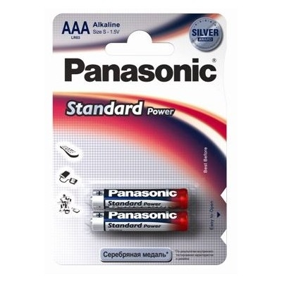 Батарейка Panasonic LR03 Standart Power Essential (AAA) 1,5V цена