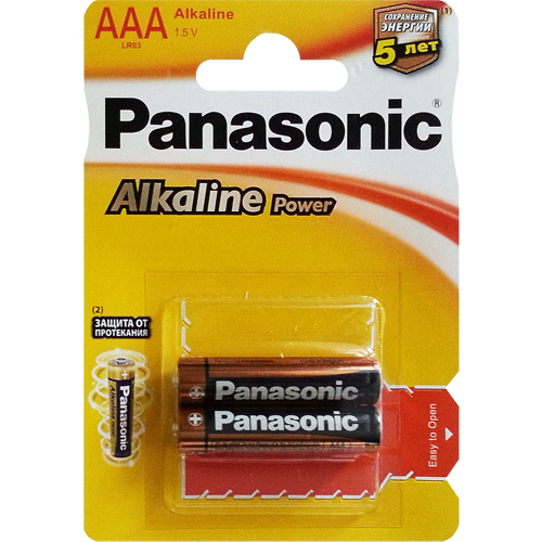 Батарейка Panasonic LR03 (AAA) Everyday Power (Standard) 1,5V цена